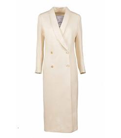 ivory long coat