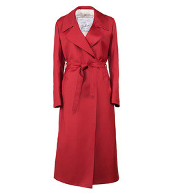 linda gabardine dress coat