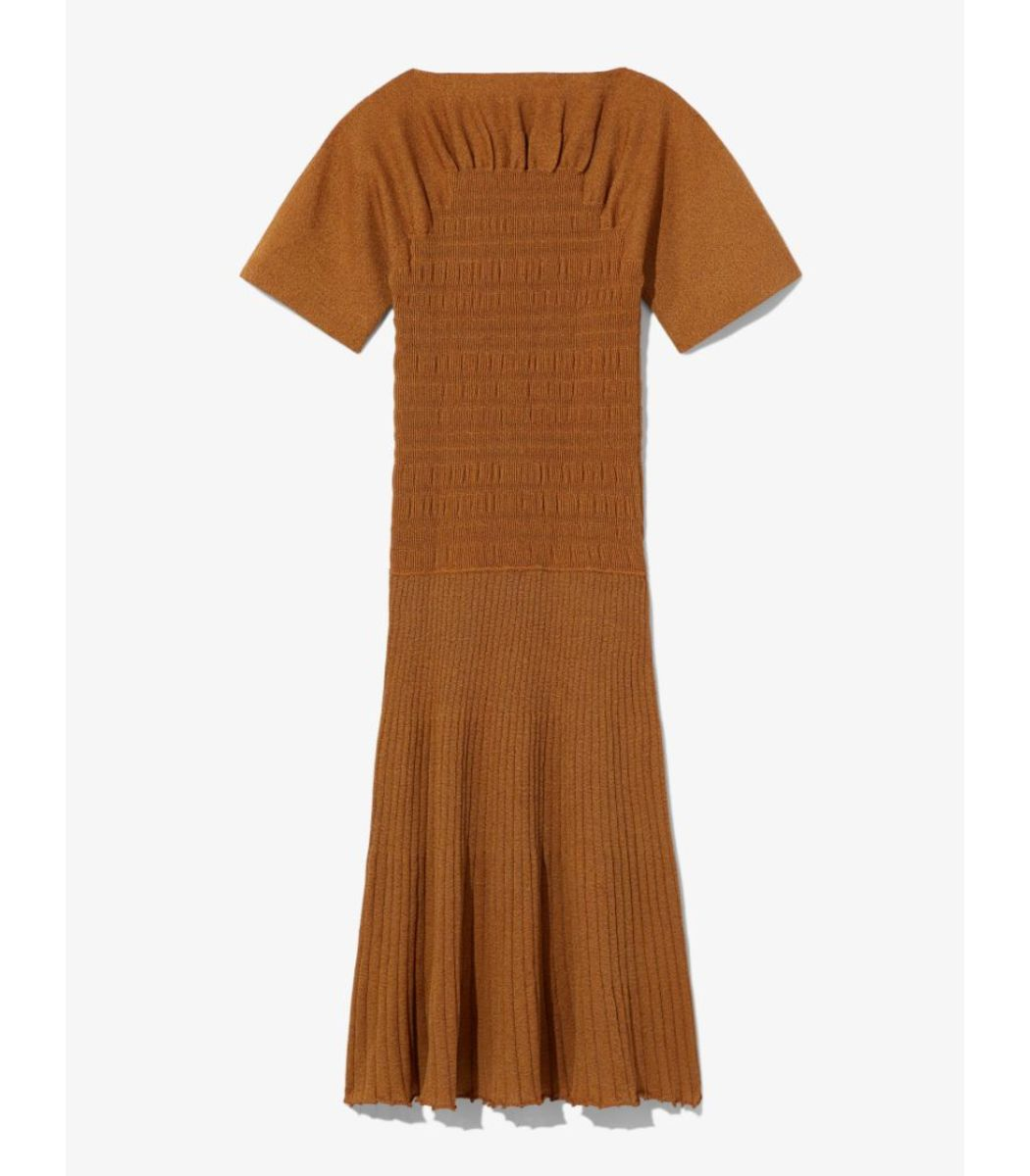 Proenza Schouler Smocked Knit Dress