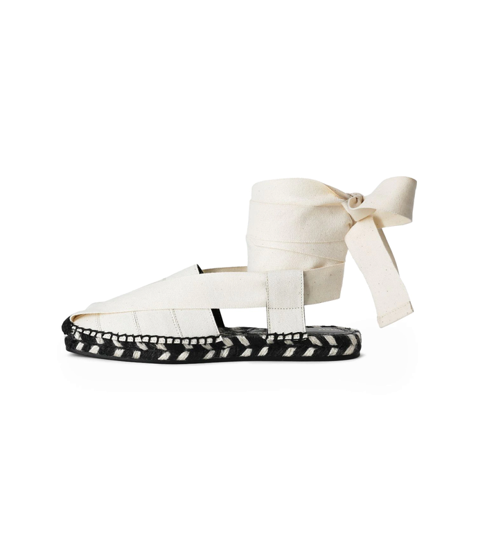 espadrille ankle wrap slippers