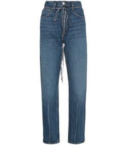 blue pswl paperbag jeans