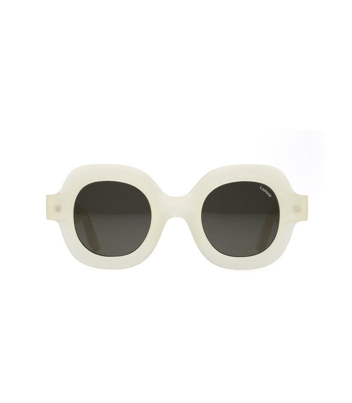 white catarina sunglasses