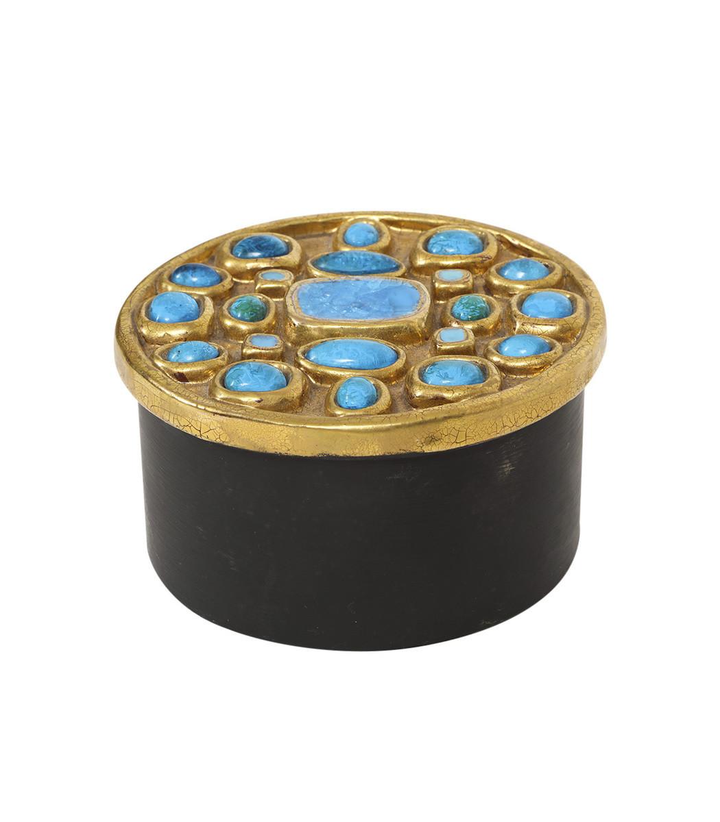 THIS PLACE Antique Ceramic Jewel Box