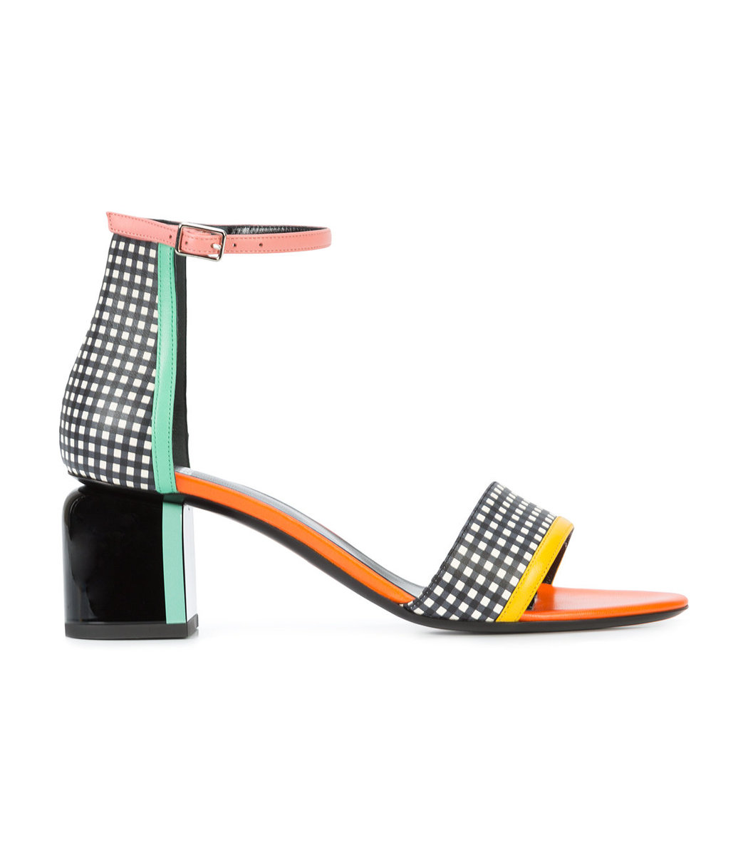 Multicolor Rally Sandal