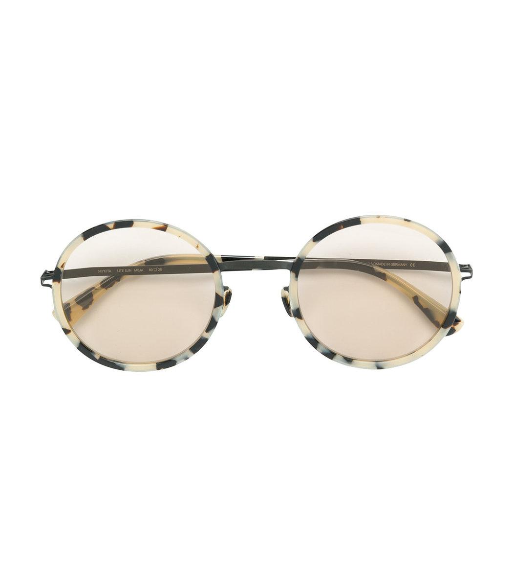 Sunglasses Frame Mykita Brown Tinted Round Lenses Meja qtOwT7