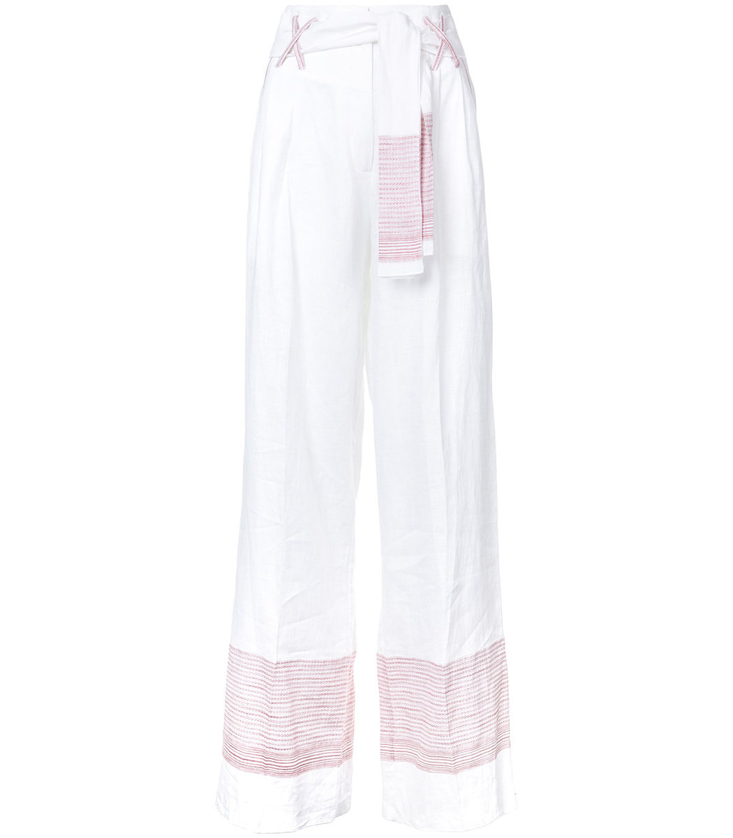 Gül Hürgel High-Waisted Wide Leg Trousers