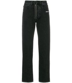 straight-leg vintage jeans