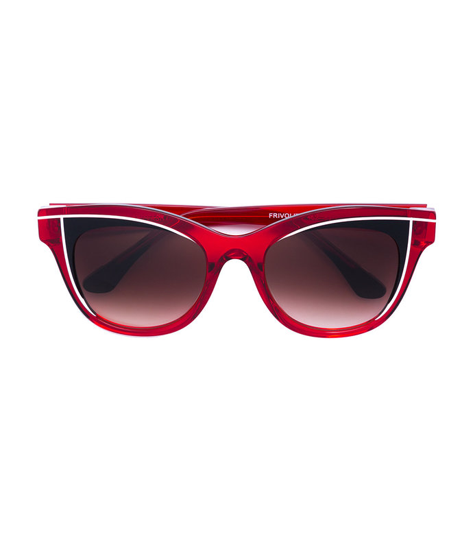 frivolty square frame sunglasses