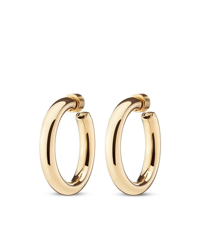 gold-tone mini natasha hoops
