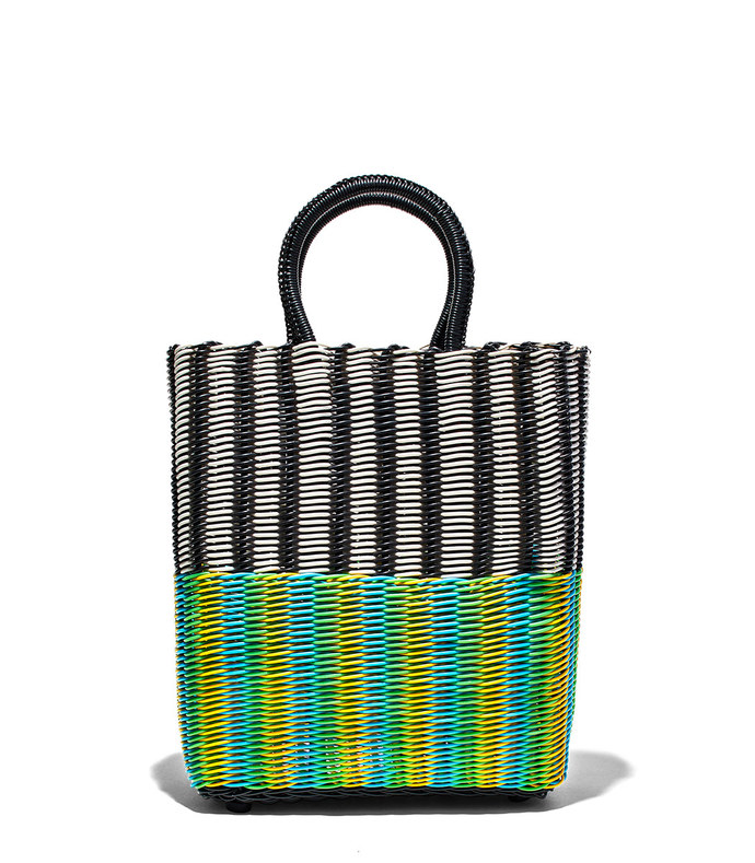 small tote tube weave