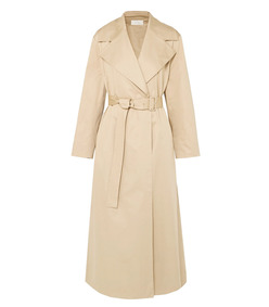 moora cotton-blend poplin trench coat