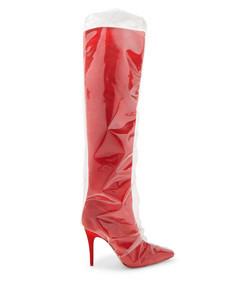 red x jimmy choo elisabeth high boots
