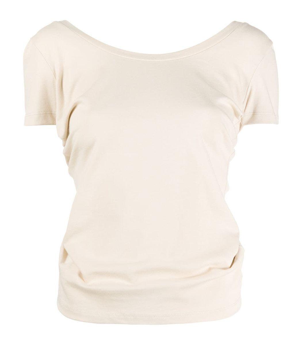 Jacquemus Silks Beige Le T-shirt Sprezza