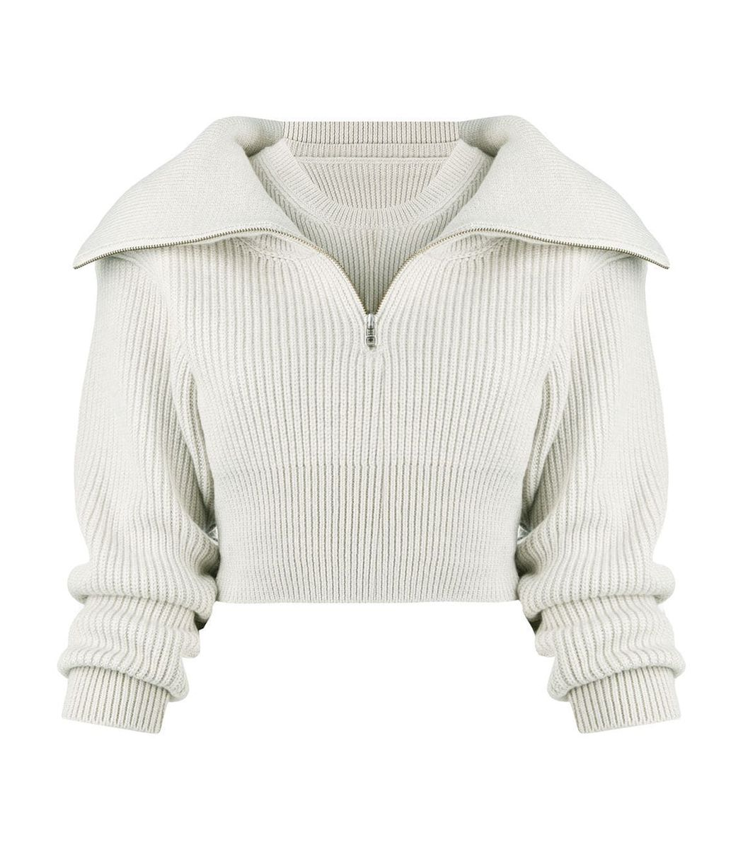 Jacquemus Wools La Maille Risoul Wool Sweater