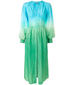 ombré robe dress