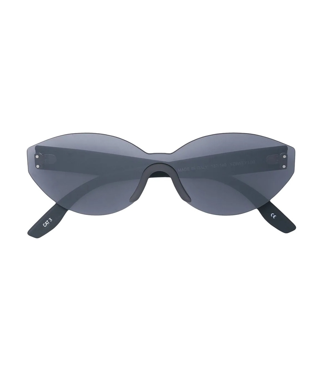 Yeezy Grey Oval Sunglasses