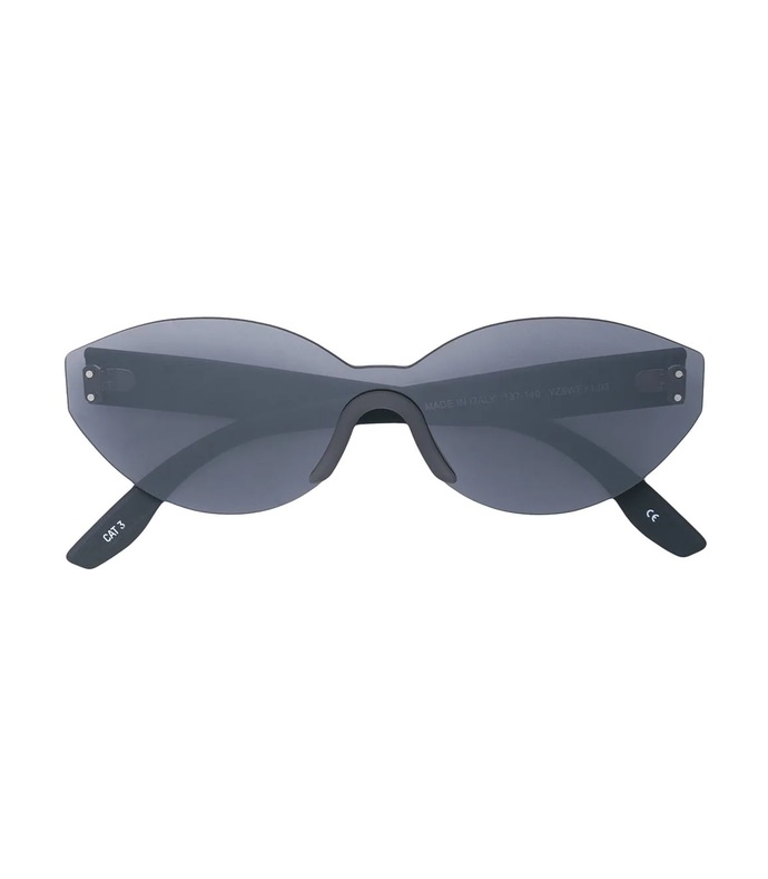 grey oval sunglasses