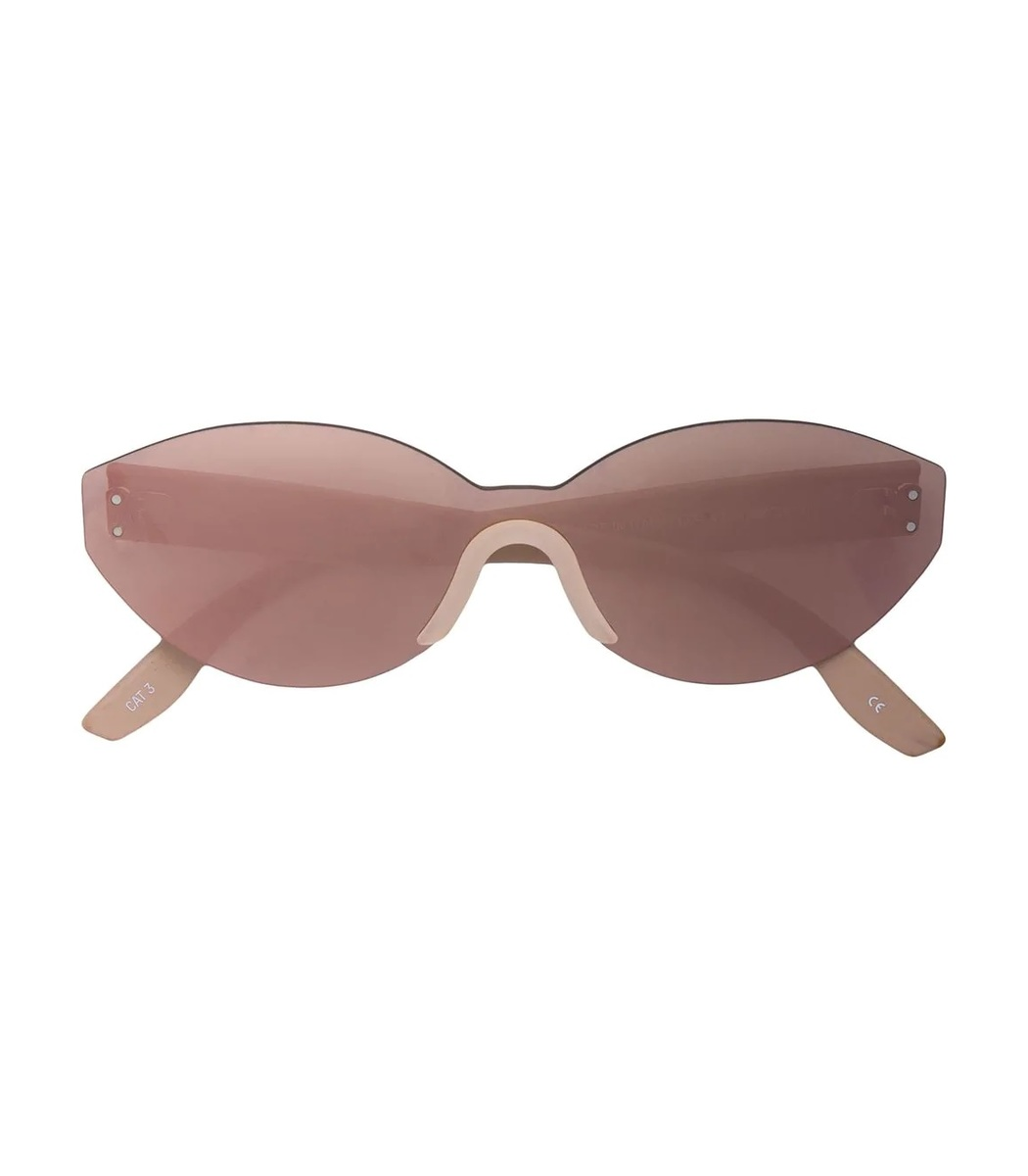Yeezy Neutral Oval Sunglasses