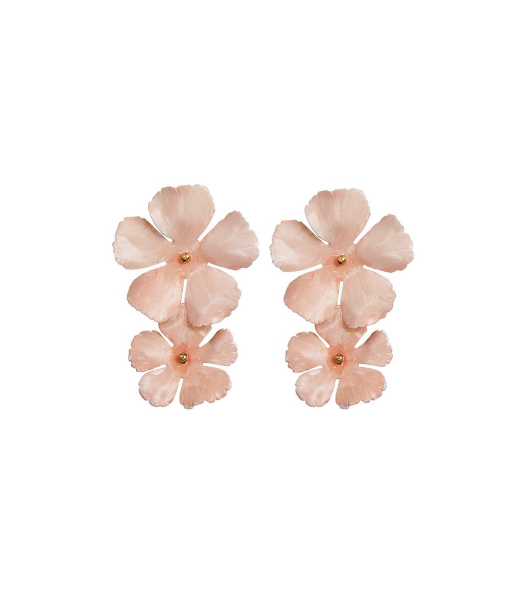 Pink Faye Earring