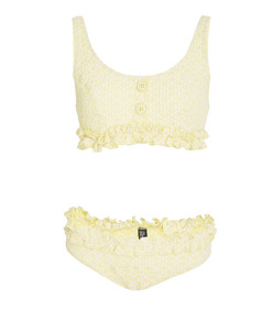 colby ruffle bikini set