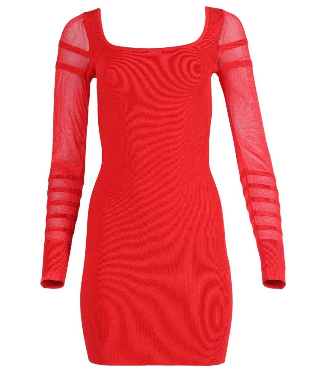 Cushnie Rouge Knit Mini Dress