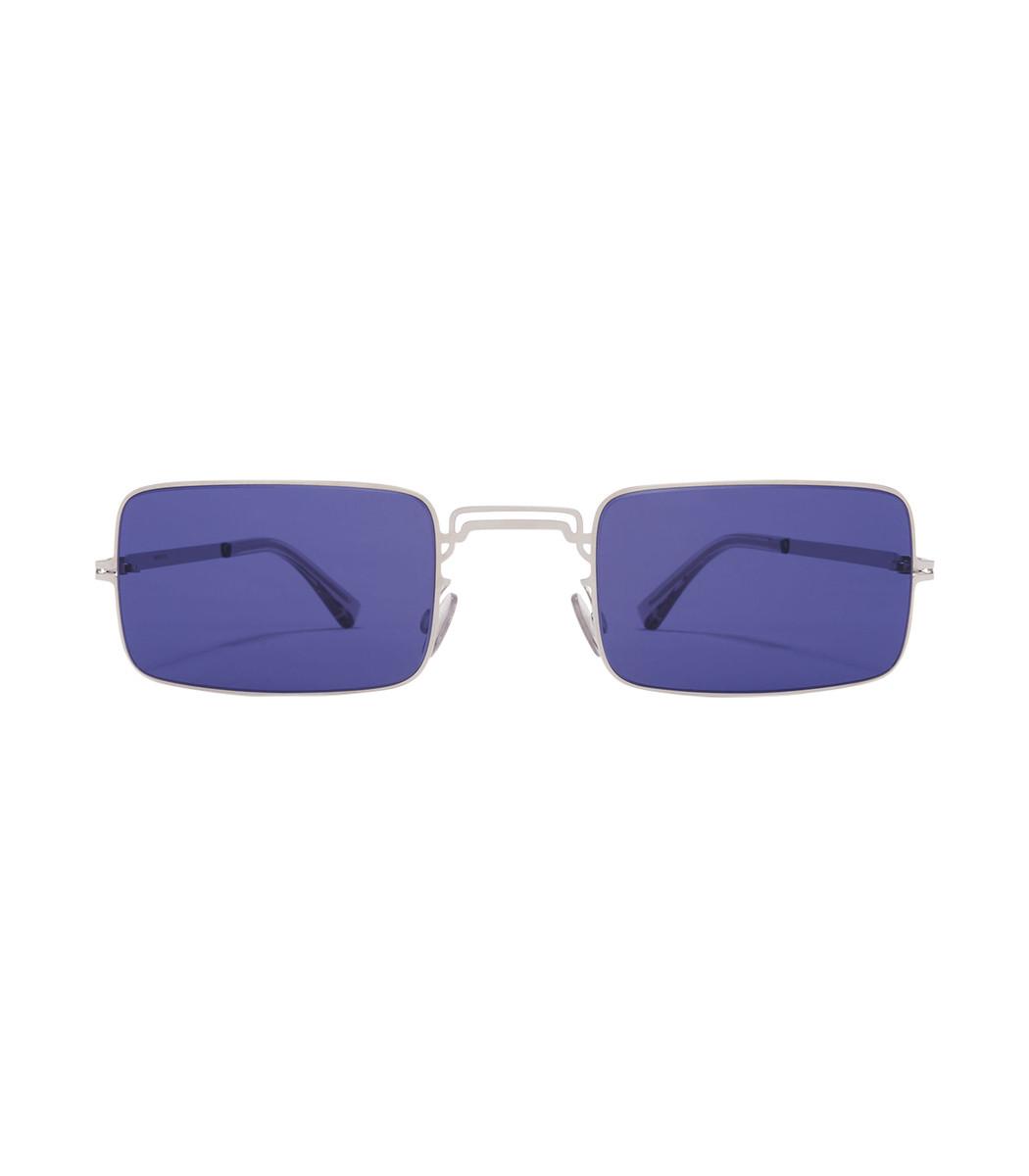 Mykita Blue Margiela Craft Square Sunglasses