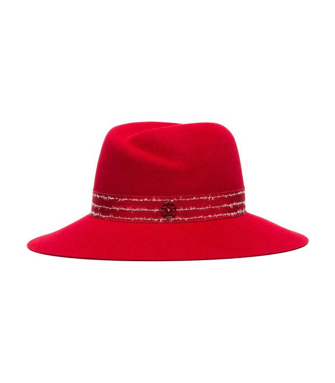 red virginie hat
