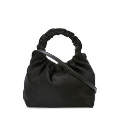black small double circle bag