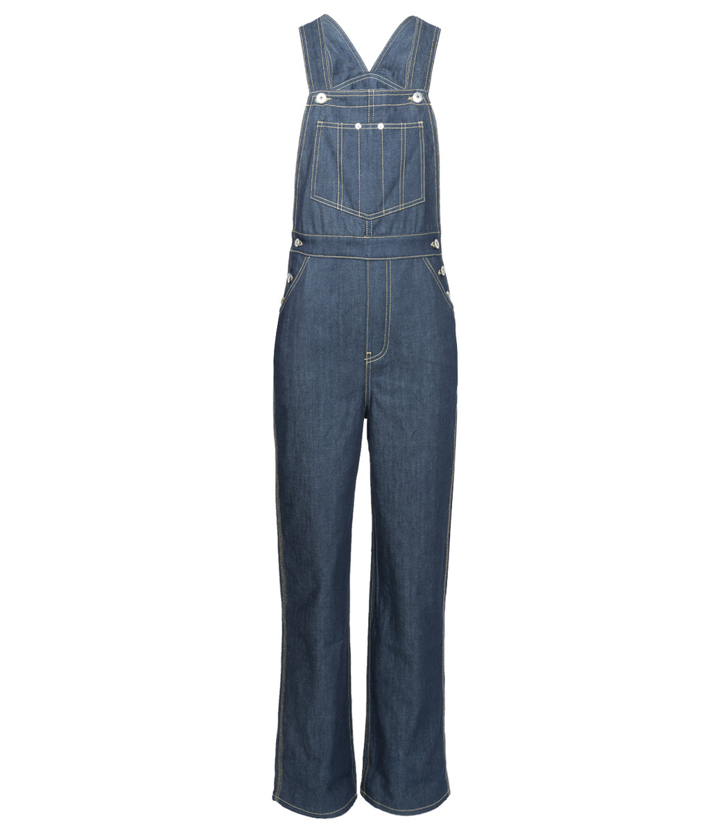 EVE DENIM Blue Olympia Overall Jumpsuit