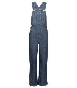 blue olympia overall jumpsuit