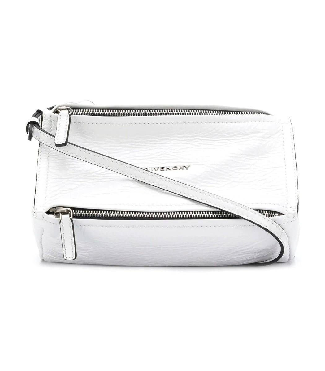 White Mini Pandora Bag