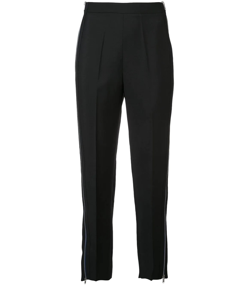 GIVENCHY Black High Waist Tailored Trousers