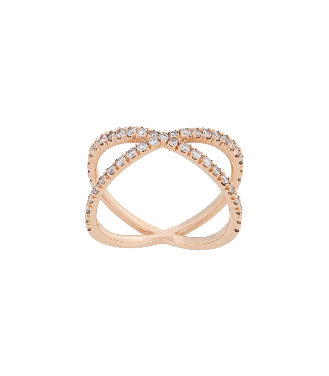 EVA FEHREN Gold Shorty Ring