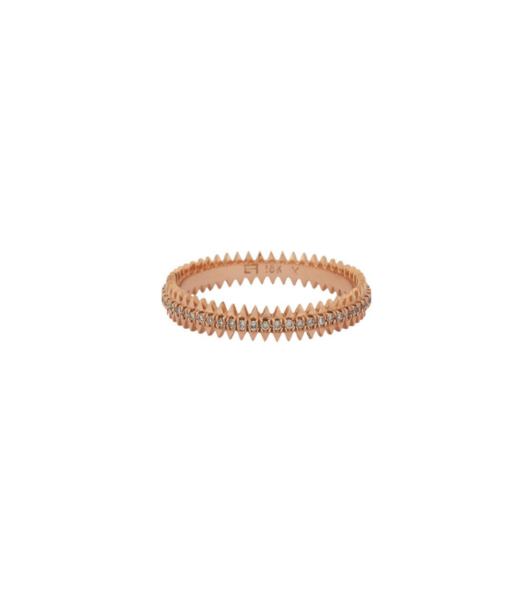 EVA FEHREN Zipper Band Ring 18Kt Rose Gold