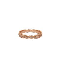 gold zipper band ring