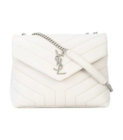 white lou lou shoulder bag
