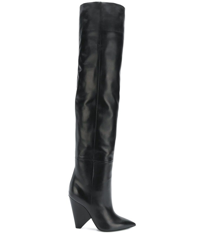 black niki boot