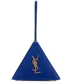 blue pyramid bag