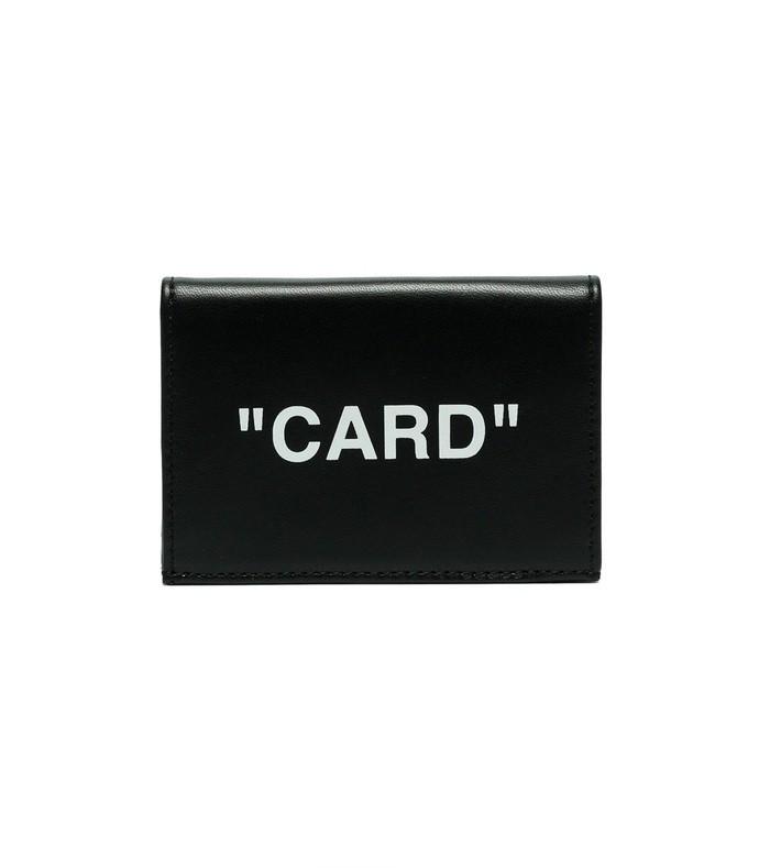 black card cardholder