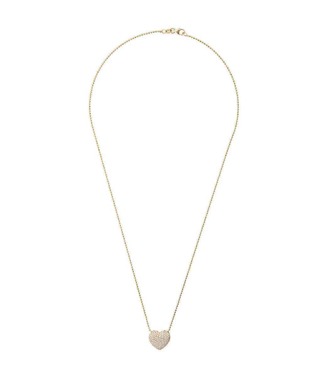 Anita Ko Gold Diamond Heart Necklace