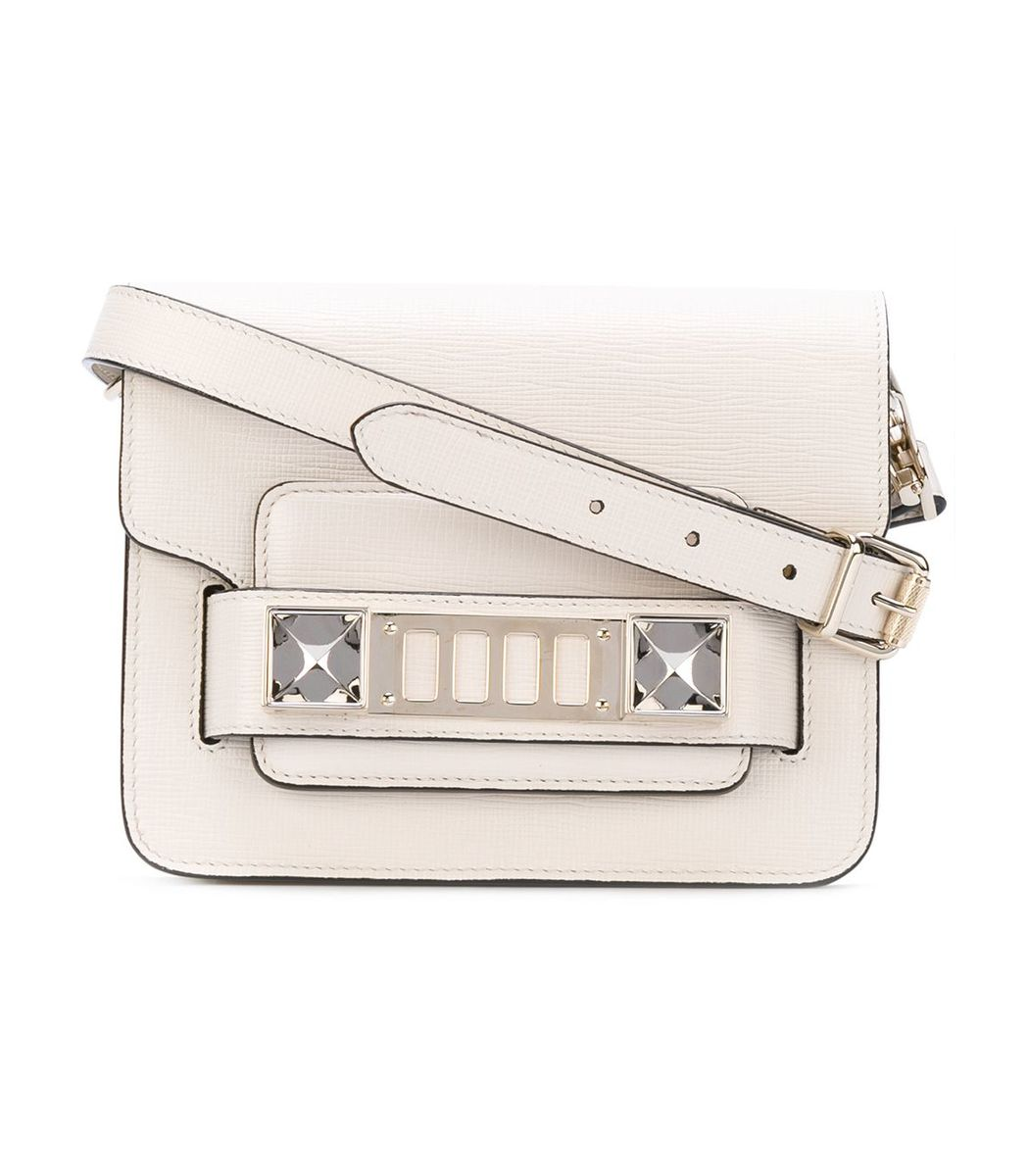 White PS11 Crossbody Bag