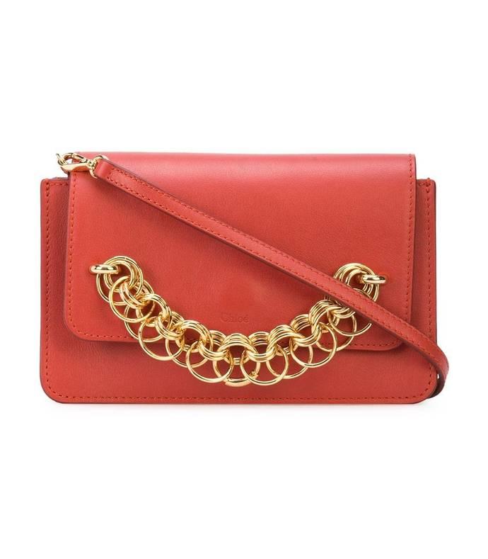 red drew bijou bag