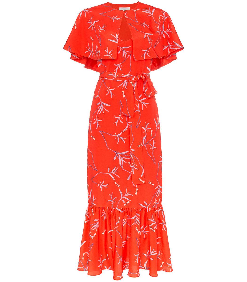 Borgo De Nor Margarita Cape Dress
