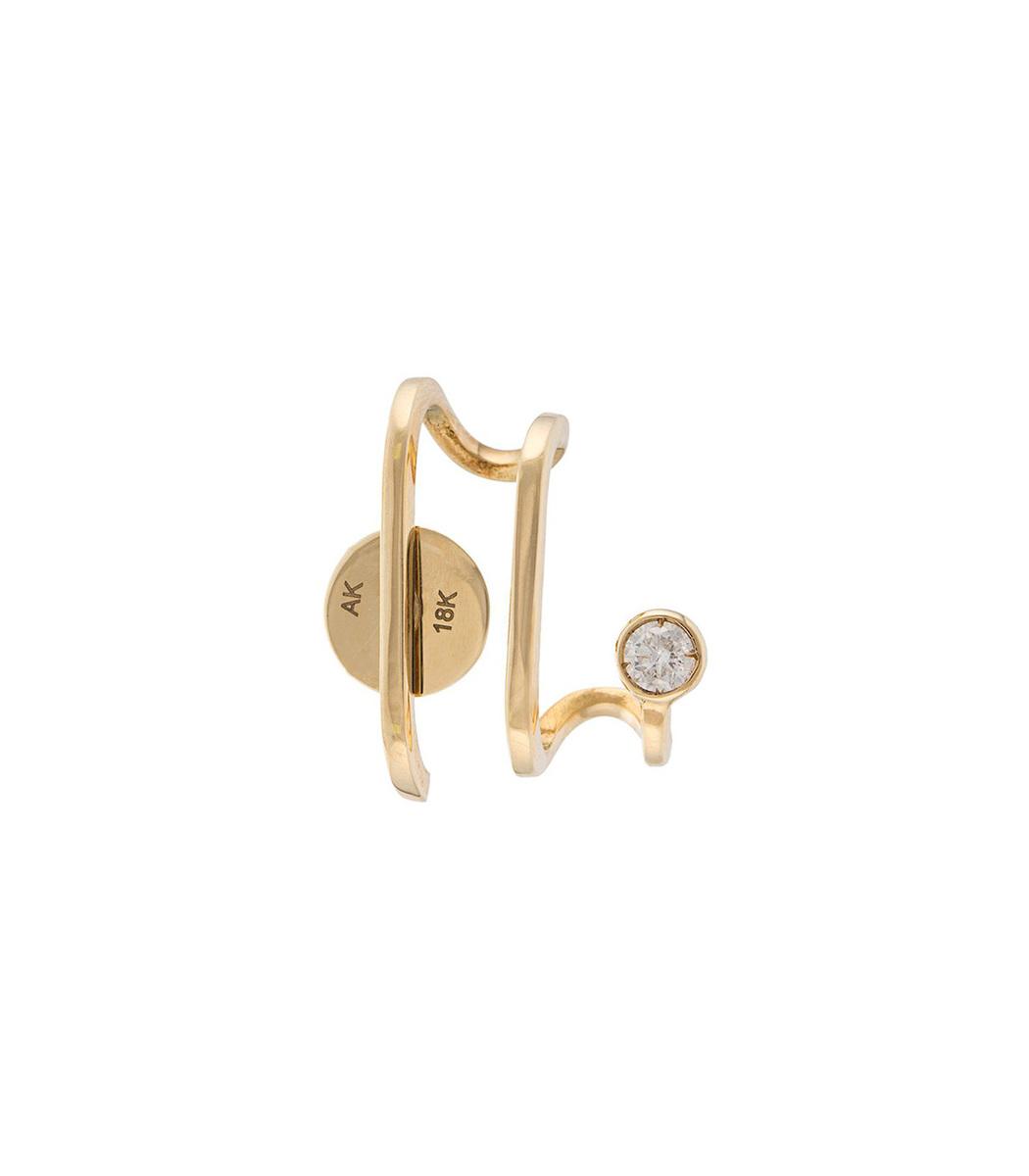 ANA KHOURI Gold Unit Diamond Amelie Earring