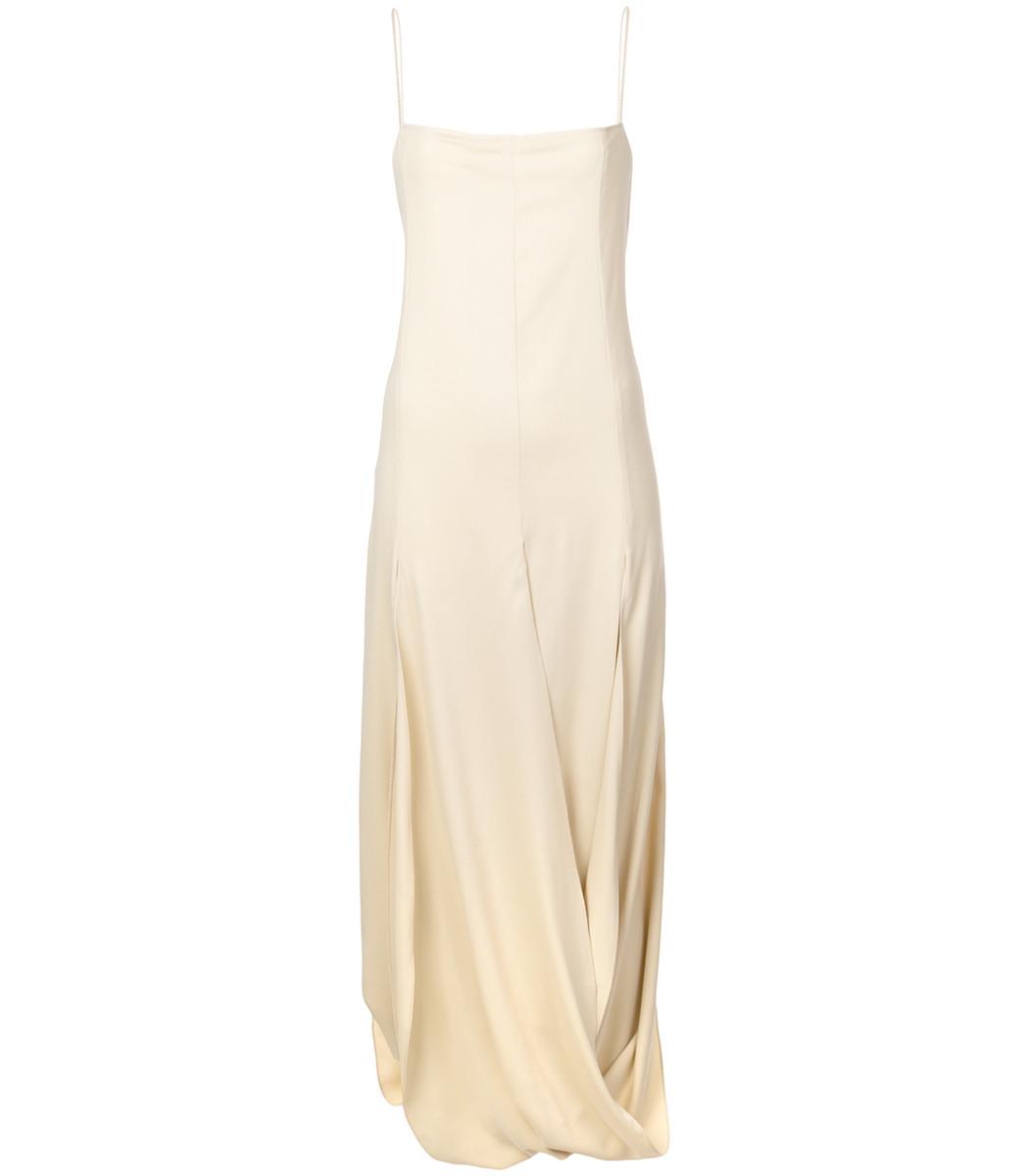 JACQUEMUS La Robe Nahil Draped Dress