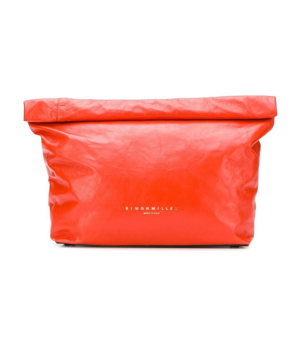 Simon Miller Orange Lunch Bag