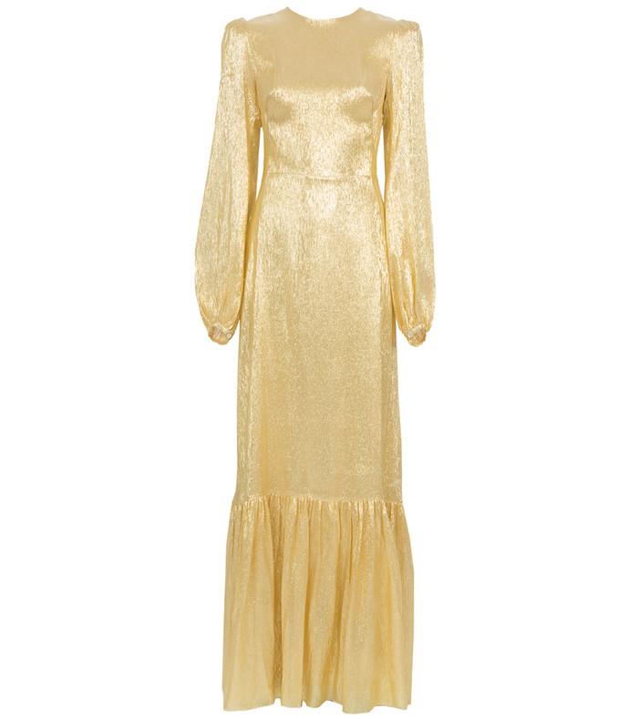 gold belle dress