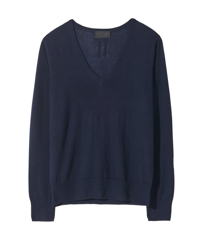 muriel sweater in navy