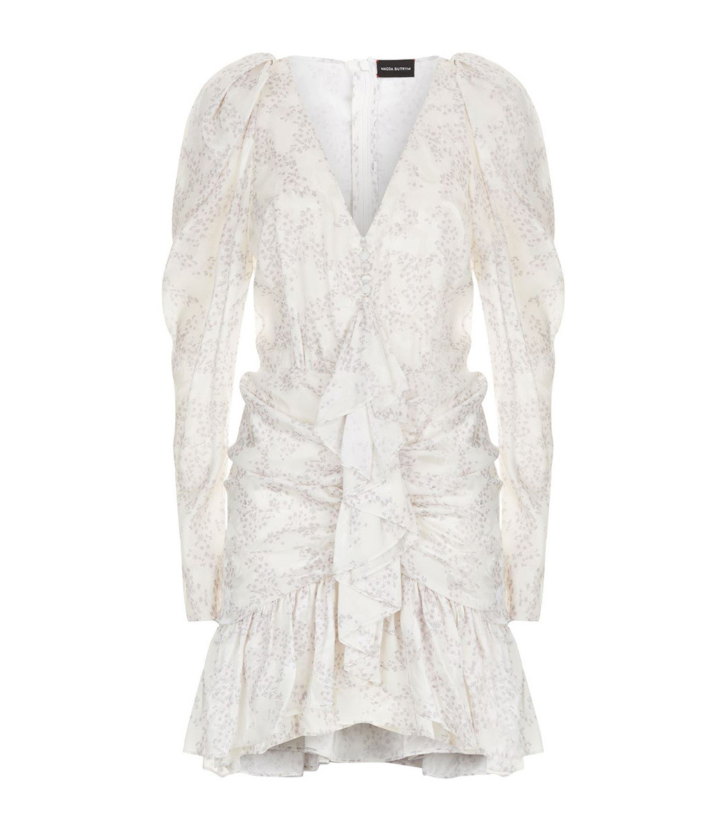 Magda Butrym White Minsk Floral Dress