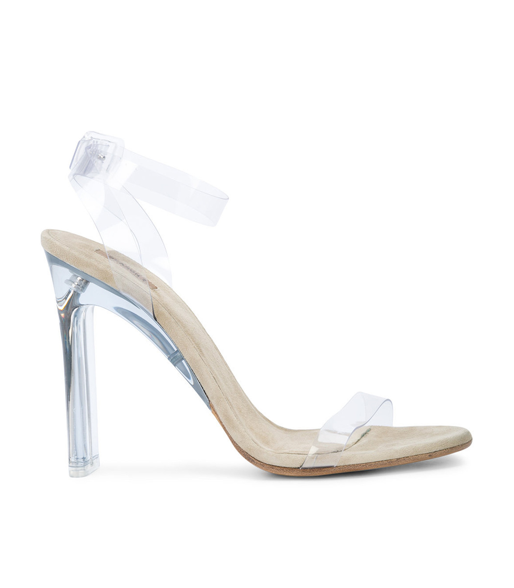 Clear PVC Sandals